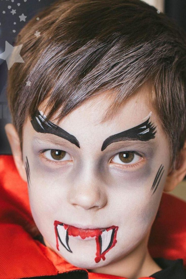 Halloween Gesichter Kinderschminken.Vampir Kinderschminken Halloween Schminken Kinder Kinder Schminken Vampir Schminken Kinder