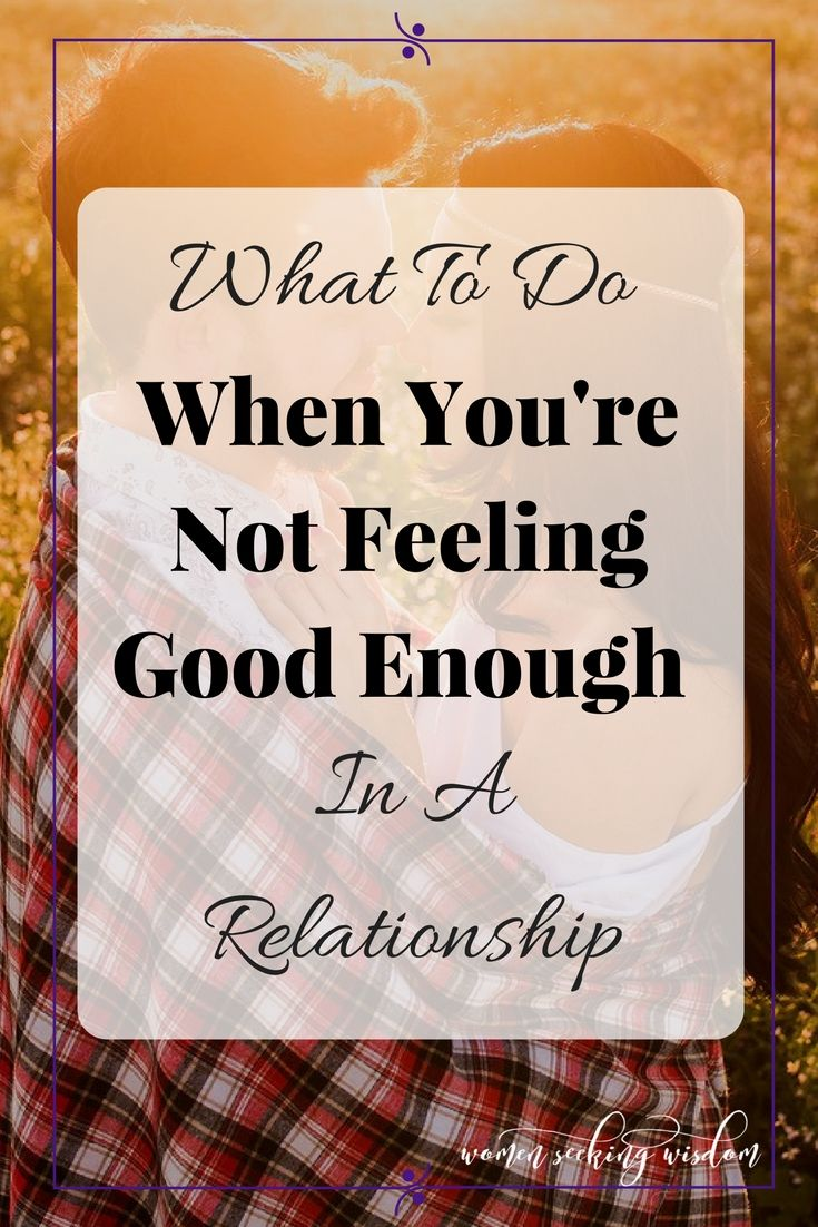 not feeling heard in a relationship