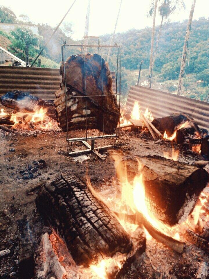 Costela fogo de chão