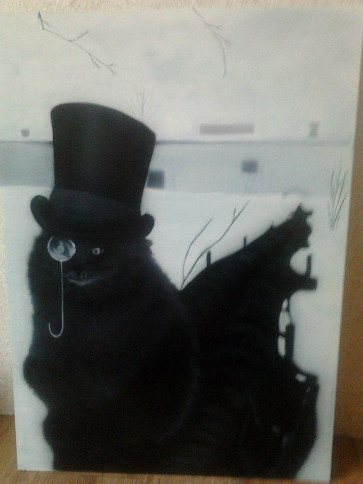 #cat #airbrush