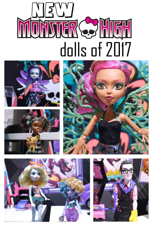 See the new Monster High Dolls of 2017