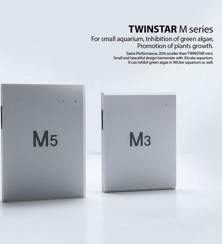 Twinstar M Series for Aquarium Sterilizer Algae Inhibition Prevent Disease  #Twinstar