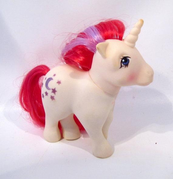 G1 My Little Pony  MOODDANCER My Little Pony Unicorn MLP Moon dancer Generation 1 1983 on Etsy, $25.00