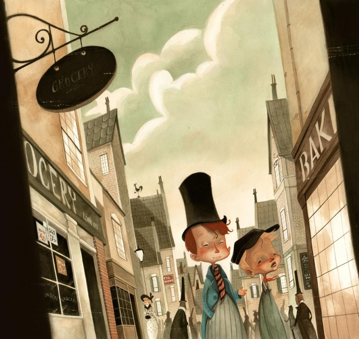 Oliver Twist by Daniela Volpari
