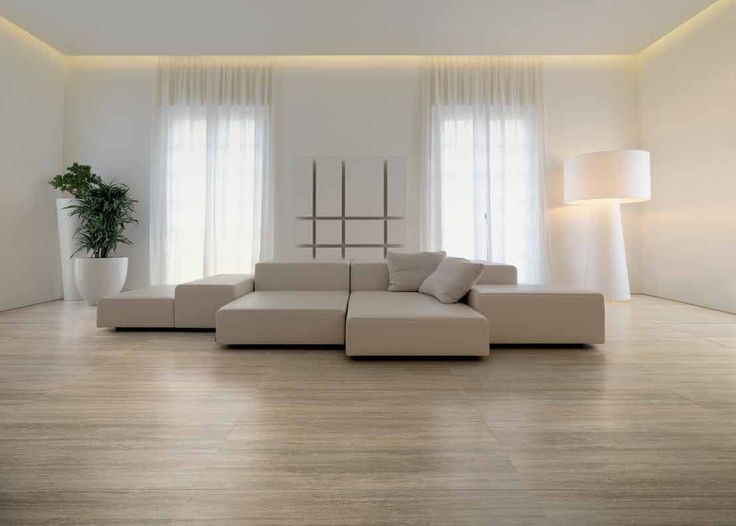 A living room completed by Santa Rosa Marble  emphasizes clean, stunning lines. #luxeFL