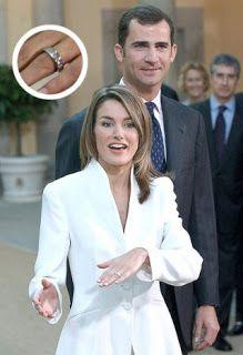 Confesiones de una boda: Los anillos de compromiso de las princesas