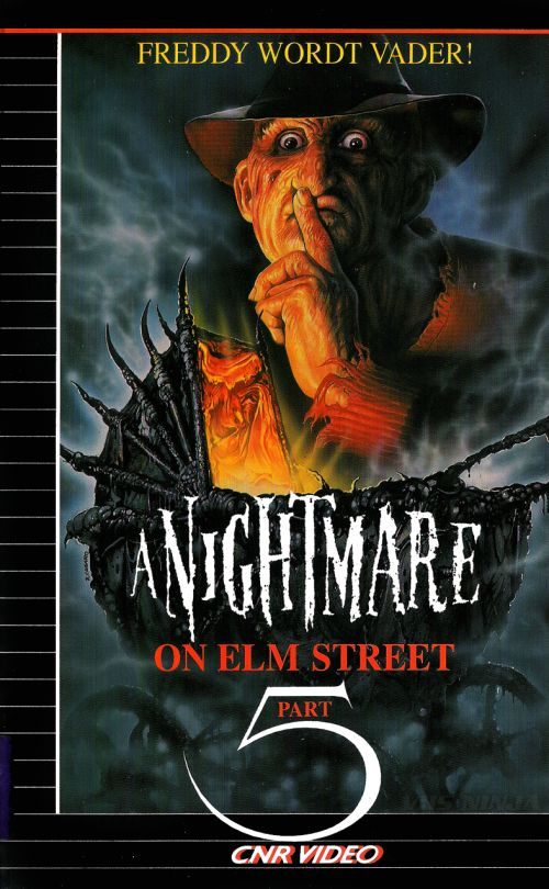 vhs-ninja  a Nightmare on Elm Street Part 5 The Dream Child (1989) by Stephen Hopkins.