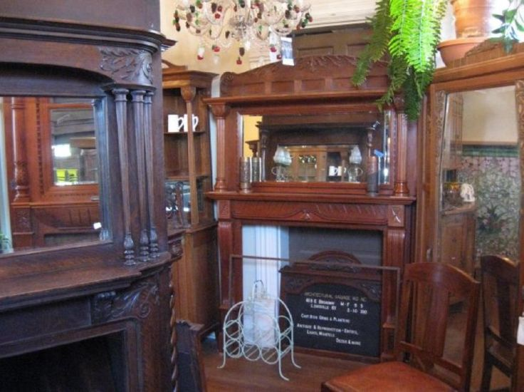 Architectural Salvage in LouisvilleFireplaces Mantels, Favorite Places, Architecture Salvaged, Living Local, Beautiful Fireplaces, House Stuff, Local Finding, Reuse Salvaged, Interiors Decor