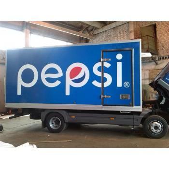 #реклама #транспорт #оклейка #авто #широкоформатная #печать #Одесса Брендирование авто для Pepsi