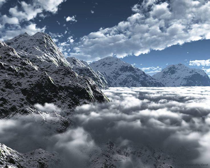 "Bildwerk ""Mountains"""