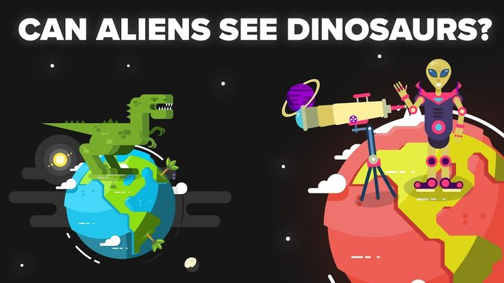 Could Aliens 65 Million Light Years Away from Earth See Dinosaurs Alive? - YouTube