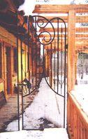 Forged Yard Gate - Steve Fontanini Blacksmith