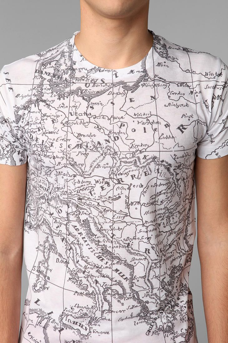 Map it out. #urbanoutfitters