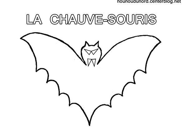 Les 25 meilleures id es de la cat gorie coloriage chauve - Masque chauve souris a imprimer ...