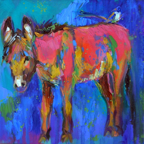 My favorite artist! I found her at a Santa Fe art gallery last summer.