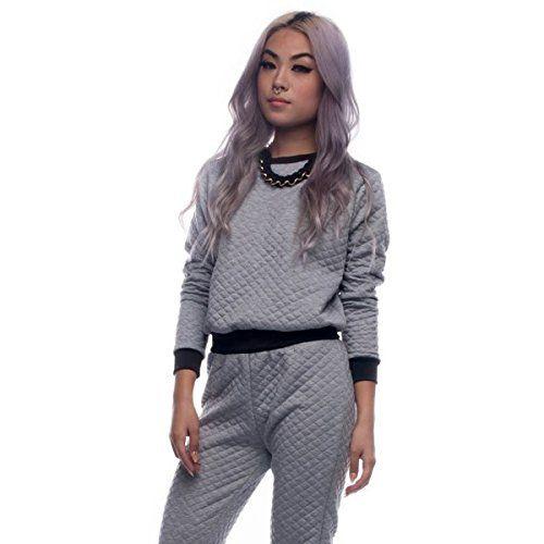 (ブルーブティック) Bluboutique レディース トップス トレーナー Heather Gray Quilted Sweatshirt 並行輸入品  新品【取り寄せ商品のため、お届けまでに2週間前後かかります。】 商品詳細:Color: ?Heather Gray 95% Polyester, 5% Spandex Model is wearing size?small? Machine wash cold 商品番号:bb-1-sw-1073 詳細は http://brand-tsuhan.com/product/%e3%83%96%e3%83%ab%e3%83%bc%e3%83%96%e3%83%86%e3%82%a3%e3%83%83%e3%82%af-bluboutique-%e3%83%ac%e3%83%87%e3%82%a3%e3%83%bc%e3%82%b9-%e3%83%88%e3%83%83%e3%83%97%e3%82%b9-%e3%83%88%e3%83%ac%e3%83%bc-5/