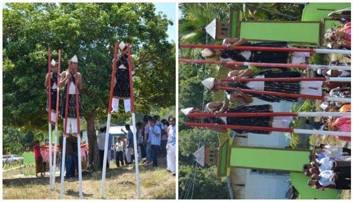 Tarian Wai Doka dari SMAN 2 Kota Komba- pulaubunga.com