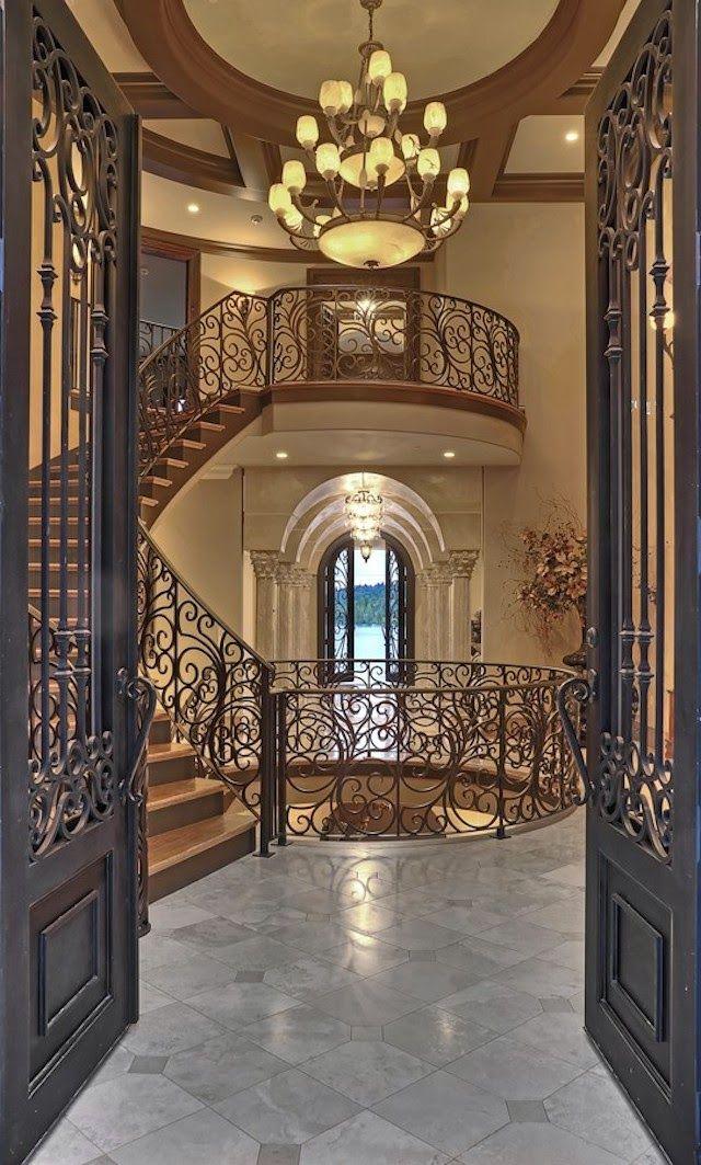 780 Best Foyers Hallways Amp Stairways Images On Pinterest
