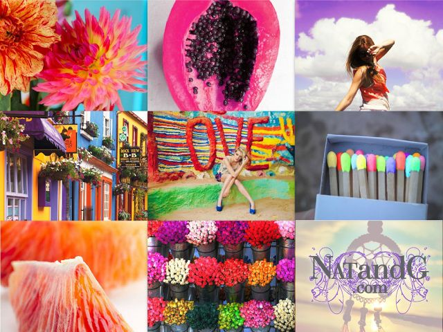 PINTEREST INSPIRATION - Colour 2 | Nat & G Inspirations