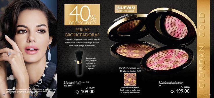 Resultado de imagen para perlas bronceadoras edicion aniversario oriflame 2017 guatemala