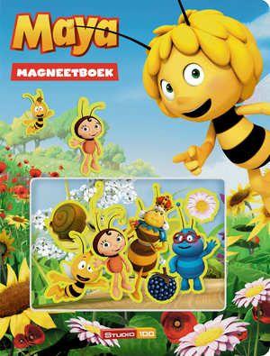 Maya - Magneetboek-Gert Verhulst-boek cover voorzijde