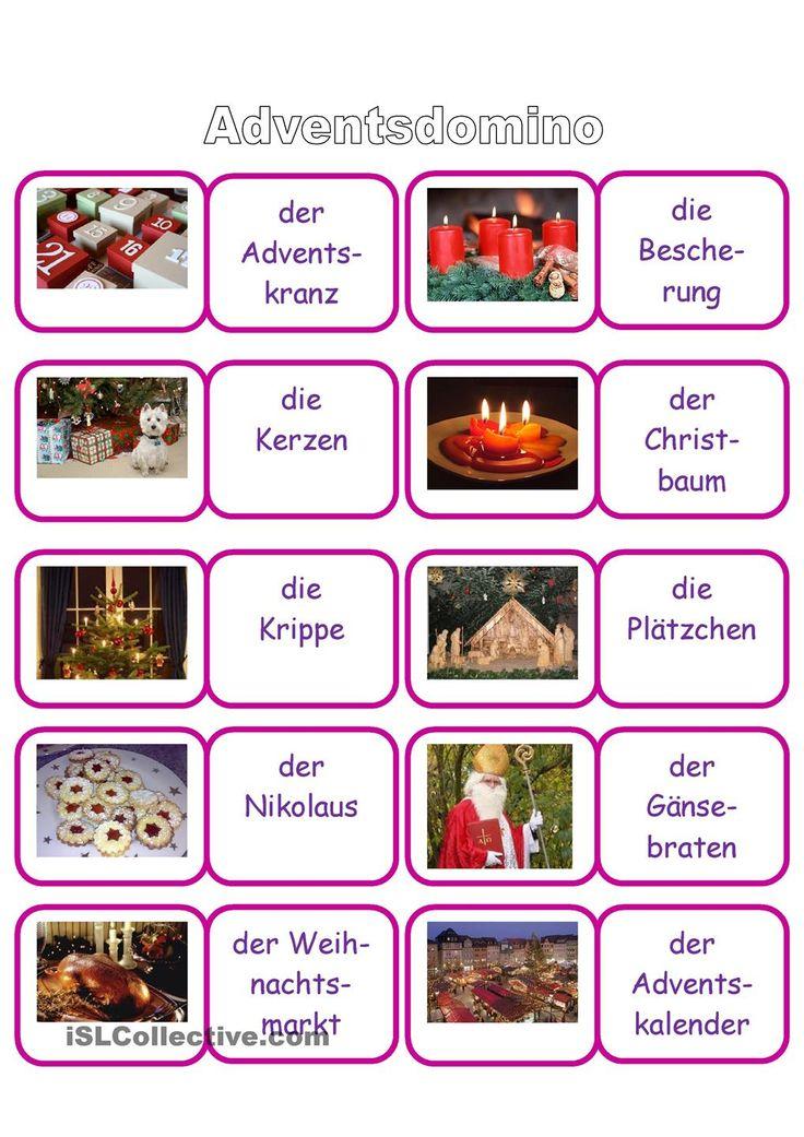 70 besten weihnachten bilder auf pinterest weihnachten advent und deutsch lernen. Black Bedroom Furniture Sets. Home Design Ideas