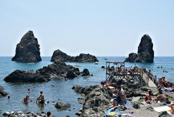 Riviera Dei Ciclopi, Sicília pláže - najlepších pláží v Sicília, Taliansko