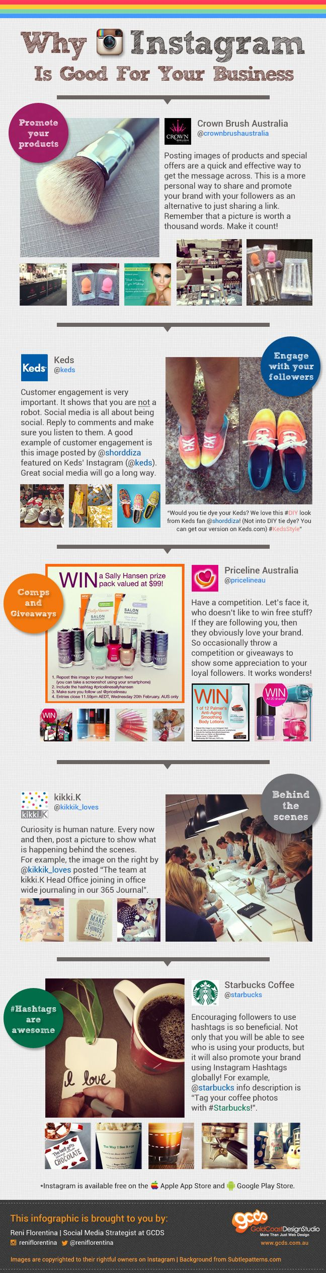 Cinco formas en las que puedes aprovechar #Instagram en tu empresa #infografia