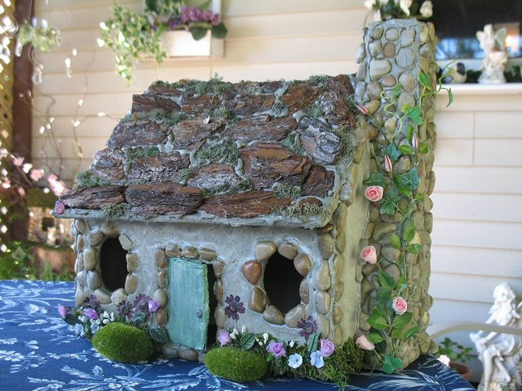 Concrete Fairy House Fairy Miniature Hobbit Amp Gnome