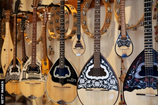 Gorgeous guitars from Greece! #PotentialistCanada