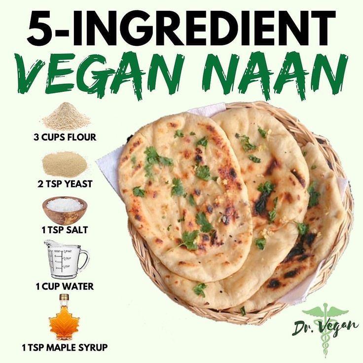 Vegan Recipes Animal Lover On Instagram Vegan Naan Recipe By Dr Vegan Ingredients 3 Cups 375g Al In 2020 Ingredients Recipes Vegan Naan Healthy Cooking