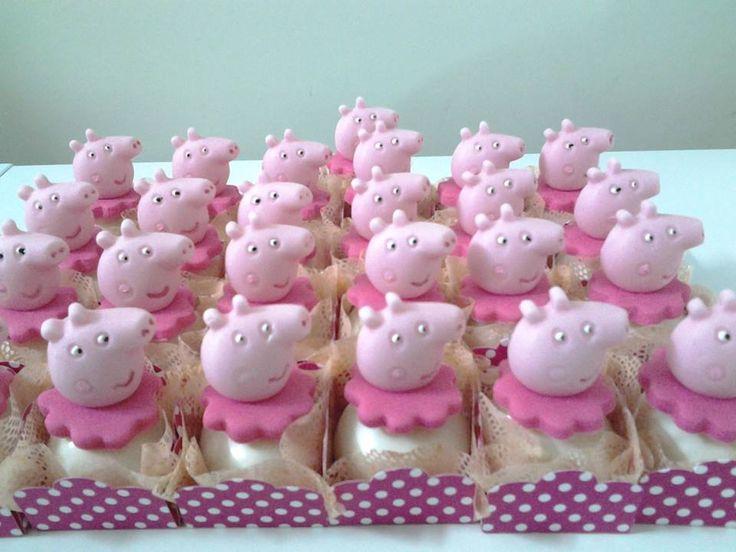 Decoração de Festas By Catia Lins: Festa da Peppa Pig