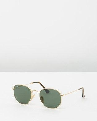 Hexagonal Flat RB3548N by Ray-Ban Online | THE ICONIC | Australia