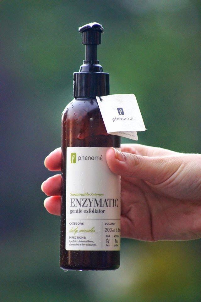 Ekologisk enzymatisk ansiktspeeling från Phenomé Cosmetics. #epic #ecoliving Finns i Sverige hos Ecoliving.se