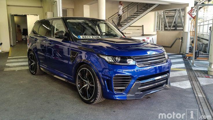 New Range Rover Sport SVR Overfinch