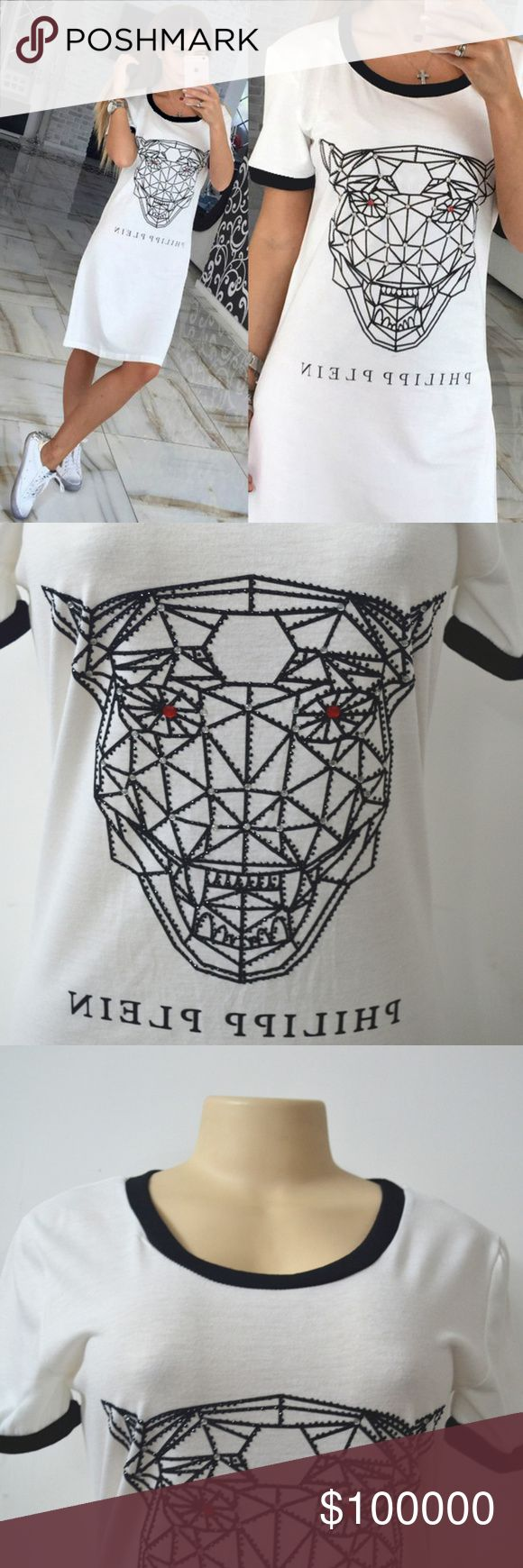 News programs and projects of jagisa paper bags - Pre Order Plein Shirt Dress S Xl 24 When Available Gorgeous Jaguar Head