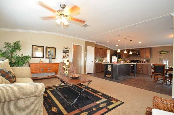 Inside Of The Great Escape Model From Palm Harbor Homes   Beautiful Cabin  With Lots Of Room! Http://mobilehometom.com | Manufactured Homes |  Pinterest ...