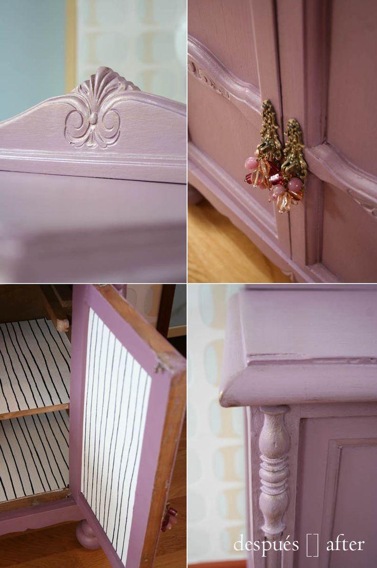 M s de 25 ideas incre bles sobre muebles antiguos pintados - Tecnicas de restauracion de muebles antiguos ...