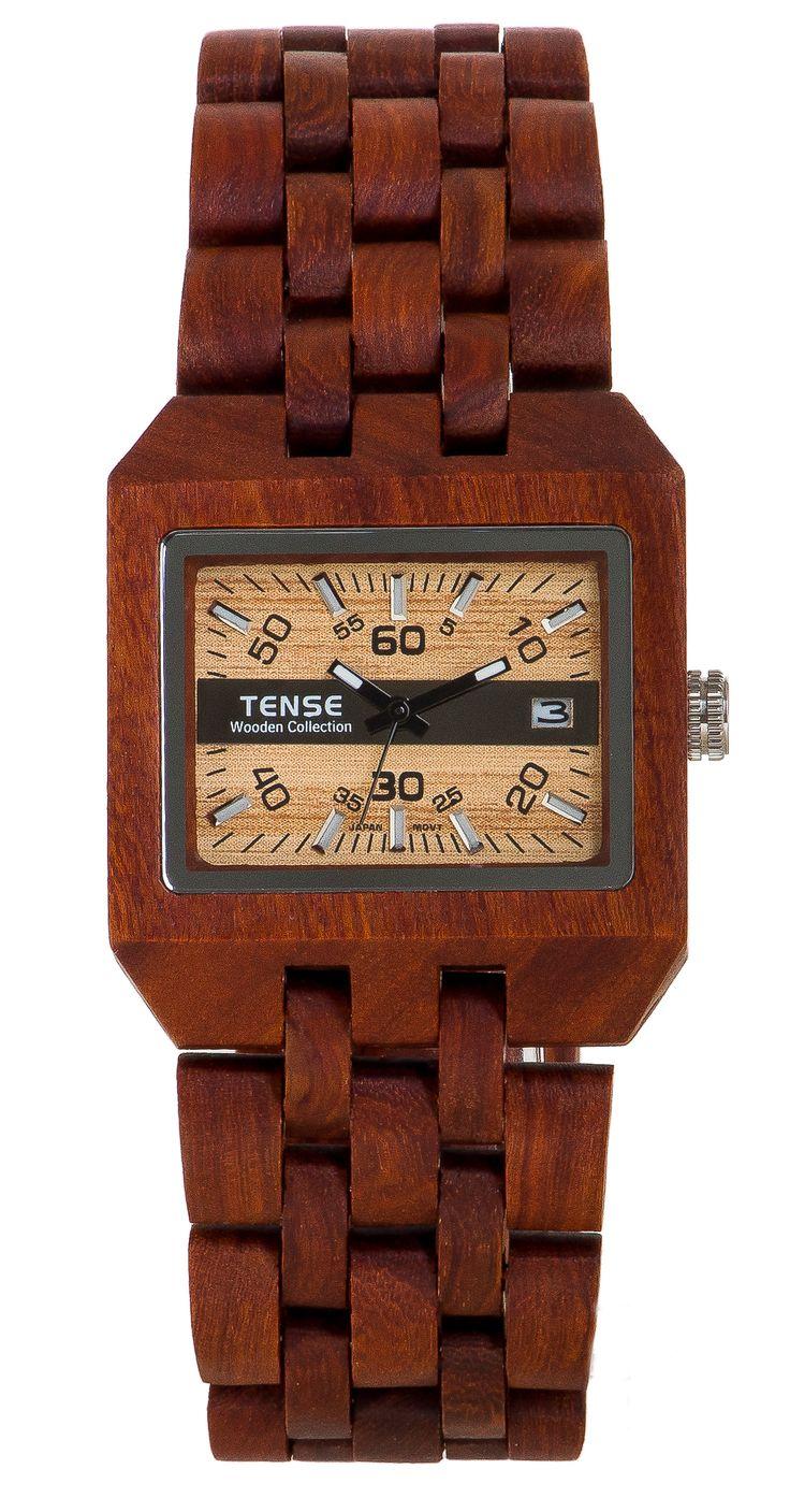 Tense Men's Comox Watch in Rosewood - $189 at tensewatch.com.