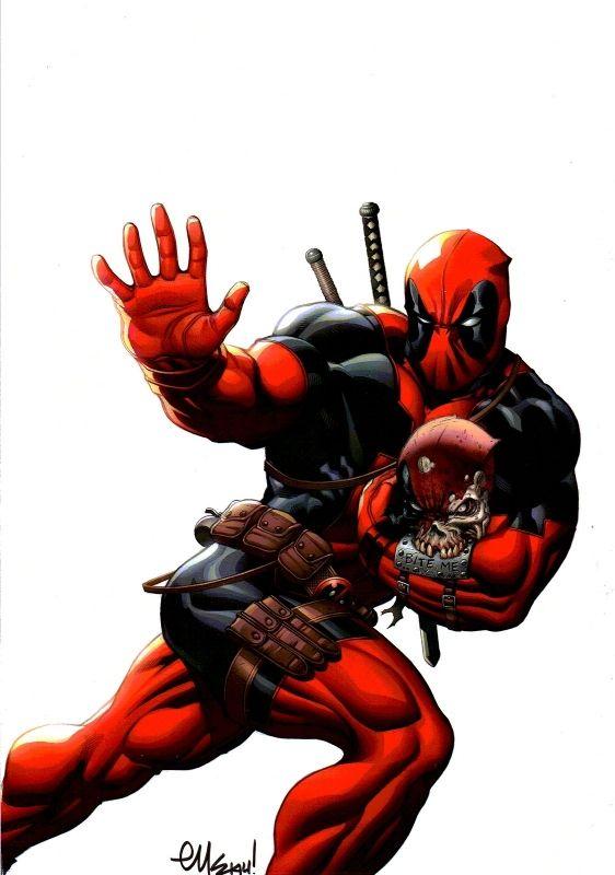 #Deadpool #Fan #Art. (MARVEL COMICS DEADPOOL) By: ED MCGUINNESS. (THE * 5 * STÅR * ÅWARD * OF: * AW YEAH, IT'S MAJOR ÅWESOMENESS!!!™)[THANK U 4 PINNING!!!<·><]<©>ÅÅÅ+(OB4E)