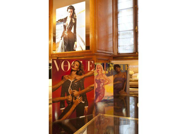 Du 29 février au 11 mars prochain, Vogue Paris et l'Hôtel de Crillon proposent un restaurant bar éphémère pendant la Fashion Week.