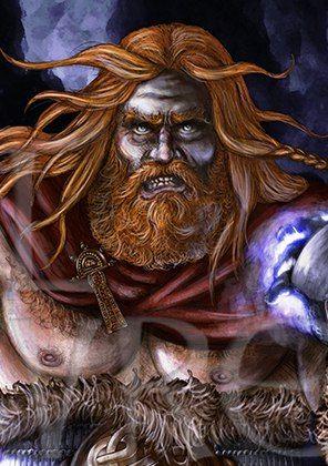 Þór!  Eg heiti á þig!  Eg heiti á þig af öllu hjarta,  Hjálpu mér!   Тор!  Взываю к тебе!  Взываю к тебе от всего сердца,  Помоги мне!