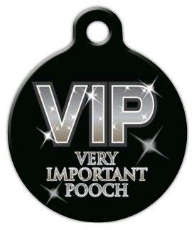 Very Important Pooch - Custom Pet ID Tag for Dogs and Cats - Dog Tag Art ** You can find more details by visiting the image link. (This is an affiliate link and I receive a commission for the sales)