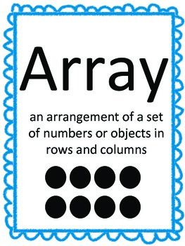 Image result for array definition