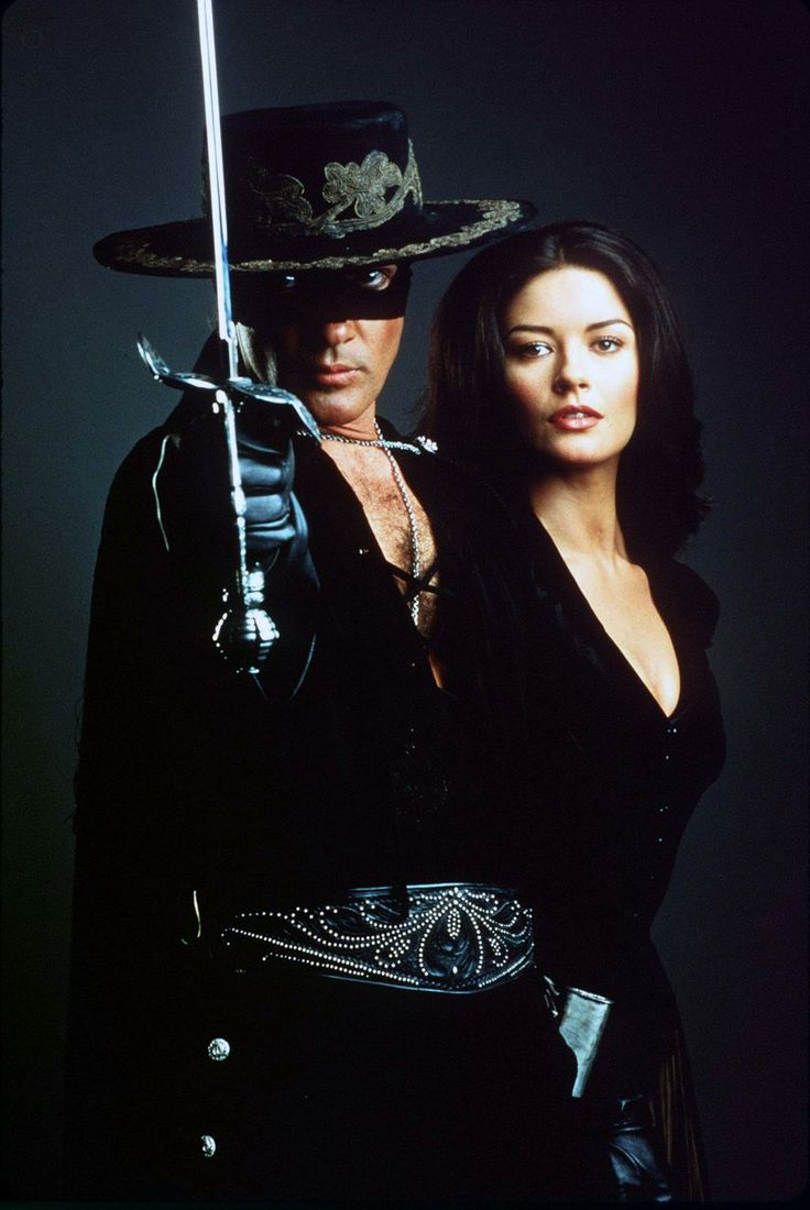 Antonio Banderas & Catherine Zeta Jones- ZORRO