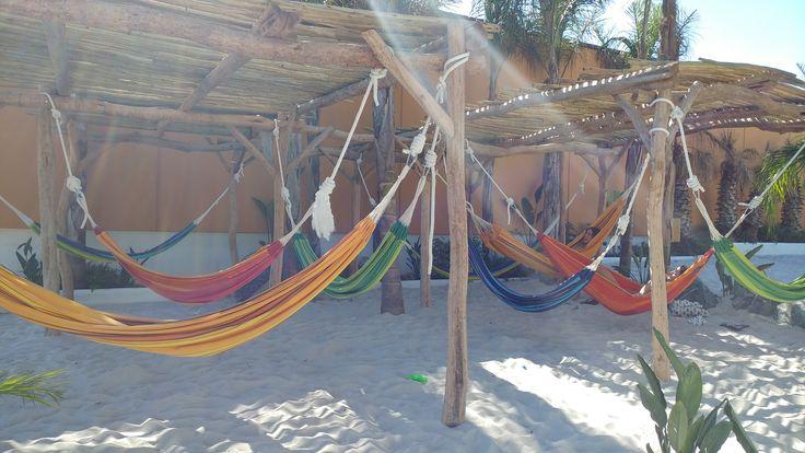 Zona Hamacas en La Siesta Salou Resort & Camping