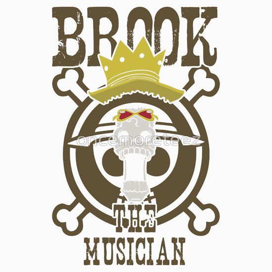 Brook The Musician, One Piece Anime and Manga