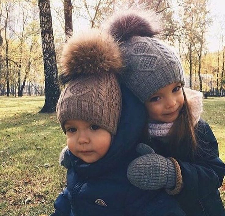 Genetically, my children will be into poofy beanies.