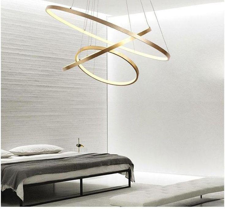 Modern Swirl LED Ceiling Light   Wohnzimmerbeleuchtung ...