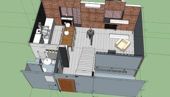 Проект первого этажа